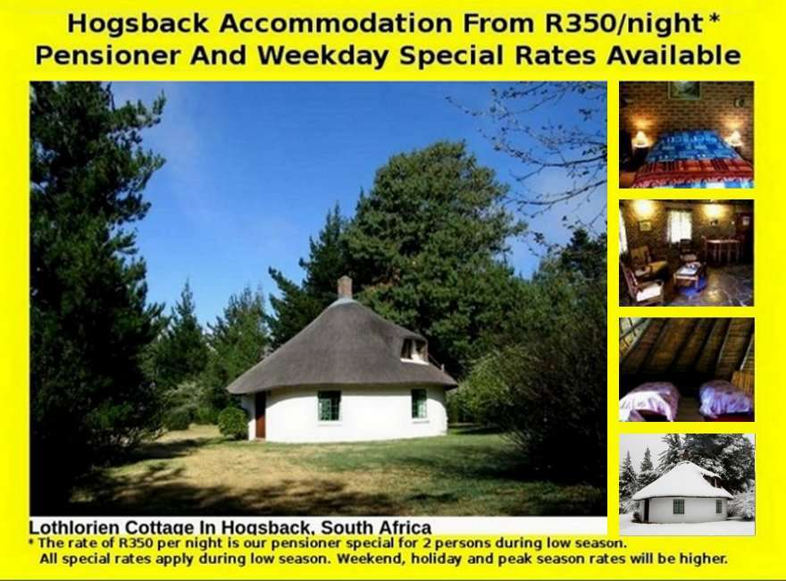 Hogsback Self Catering Accommodation